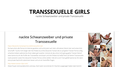 screenshot vonhttp://transsexuellegirls.porno-verzeichnis.com/